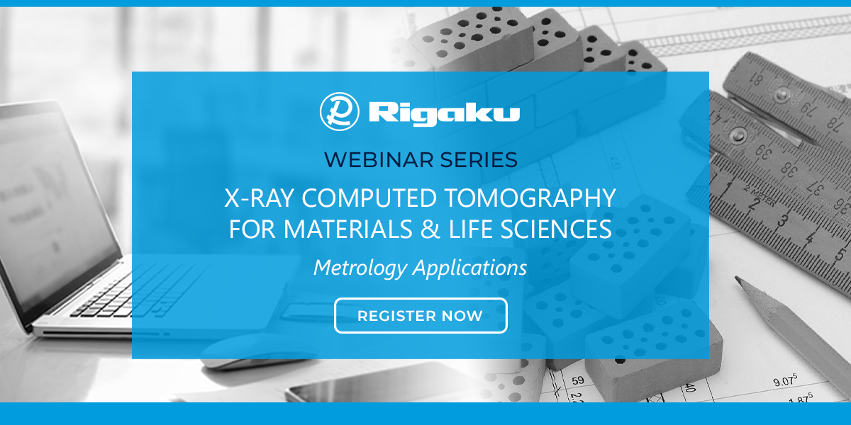 X-Ray Computed Tomography For Materials & Life Sciences 8: Metrology Applications