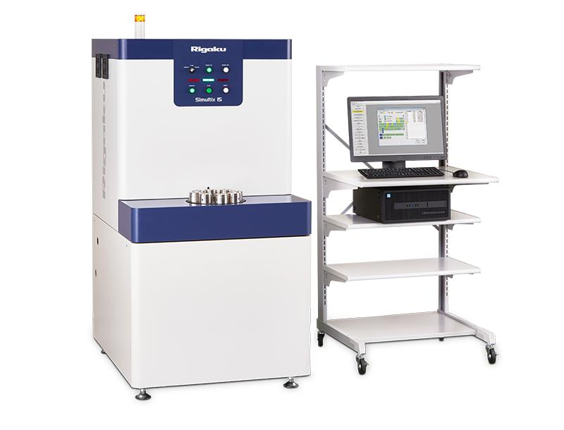 Simultix 15 tube-above simultaneous wavelength dispersive X-Ray fluorescence spectrometer