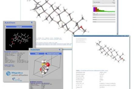 From The Automated Structure Determination Plugin AutoChem