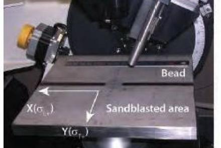 Mapping Measurement Of The Weld Bead On A SUS304 Plate